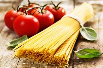 Spaghetti al pomodoro_pasta cruda