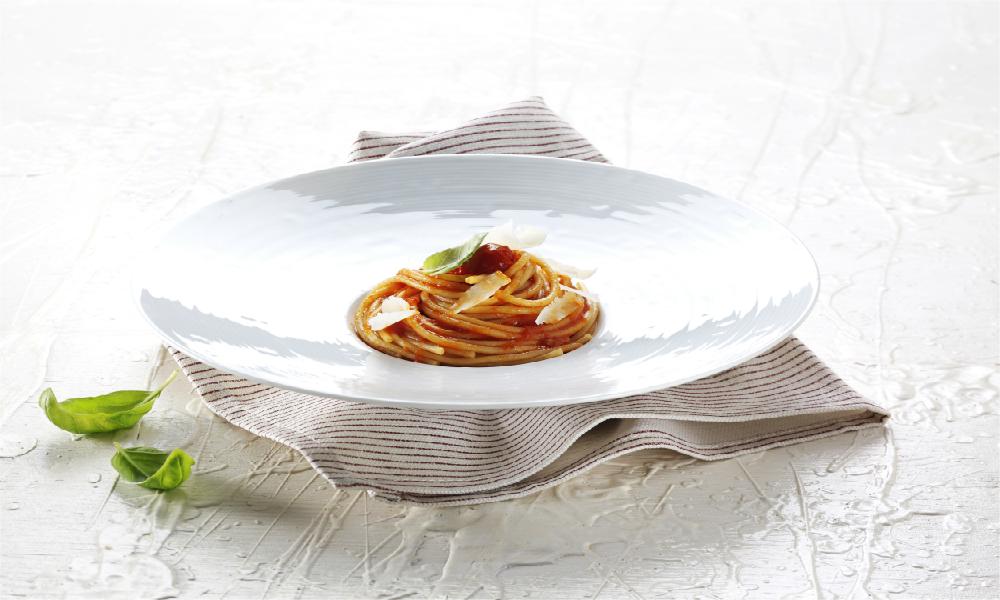 Spaghetti Pomodoro e basilico ok