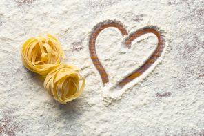 We love pasta: 3 ricette di pasta per San Valentino