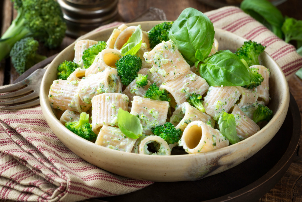 pasta integrale verdure